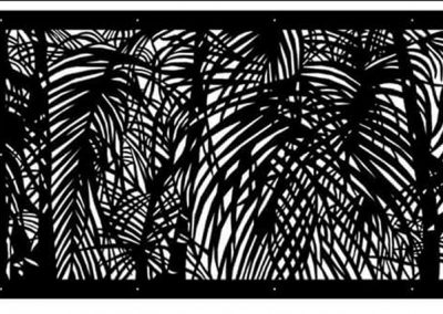 Urban-Metal-Custom-Design-Palm-Leaves