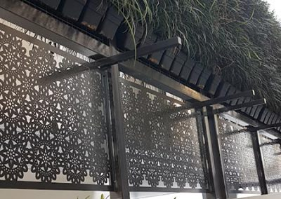 Urban-Metal---Privacy-Screens---Lace-Design